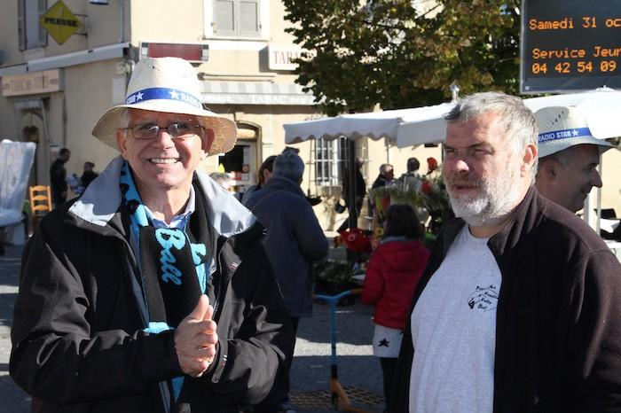 PAVVB - Equipe PRO, Marché de Venelles 17 octobre 2015