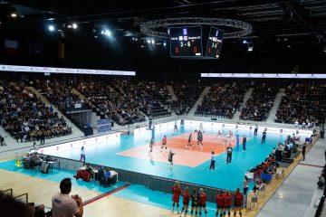 Volley Ball : Coupe d'Europe féminine - 16e de finale retour  Match : Pays d'Aix Venelles PAVVB - Dresde à l'Arena
